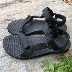 Classic Black Teva Sandals